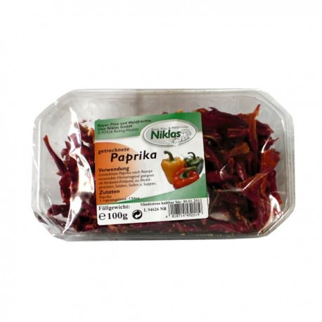 Getrocknete Paprika