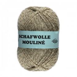 Schurwolle 100% Schafwolle Moulinee 3f NS3-4
