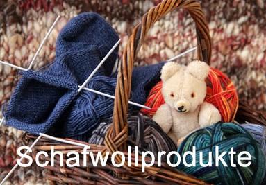 Schafwoll Produkte